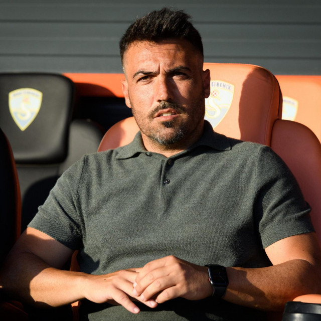 Mario Rosas, trener Šibenika