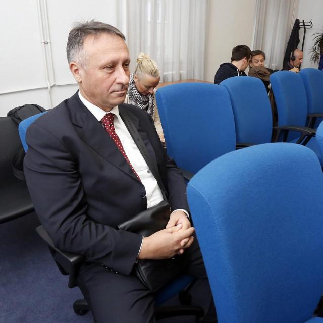 Berislav Rončević prije pet godina na jednome od brojnih ročišta