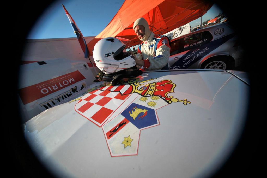 Maro Franić (Dubrovnik Racing) na Slovakia Ringu 2020. godine