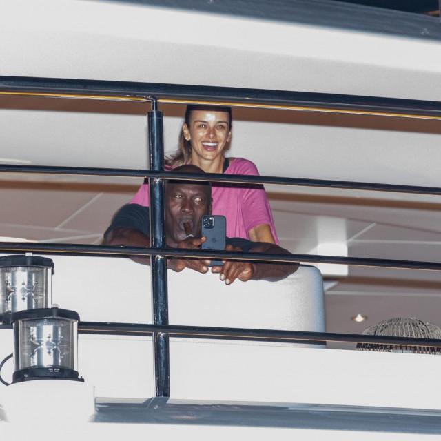 Yvette sa suprugom Michaelom, na jahti O'Para u Splitu