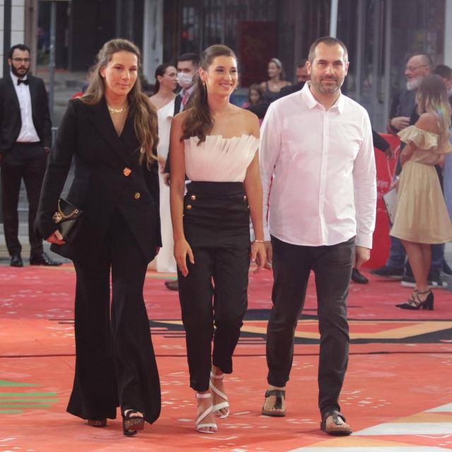 <br /> Sarajevo Film Festival 2021.<br /> <br /> Na fotografij: ekipa filma Murina, Antoneta Alamat Kusijanovic, Danica Curcic.<br />
