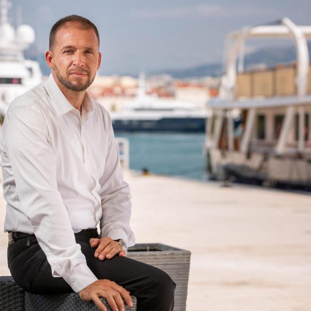 "Dražen Delić, direktor gradske tvrke ""Splitska obala""<br />"