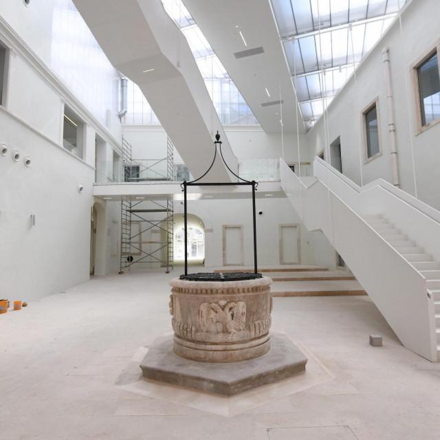 Unutrašnjost Providurove palače - prizemlje