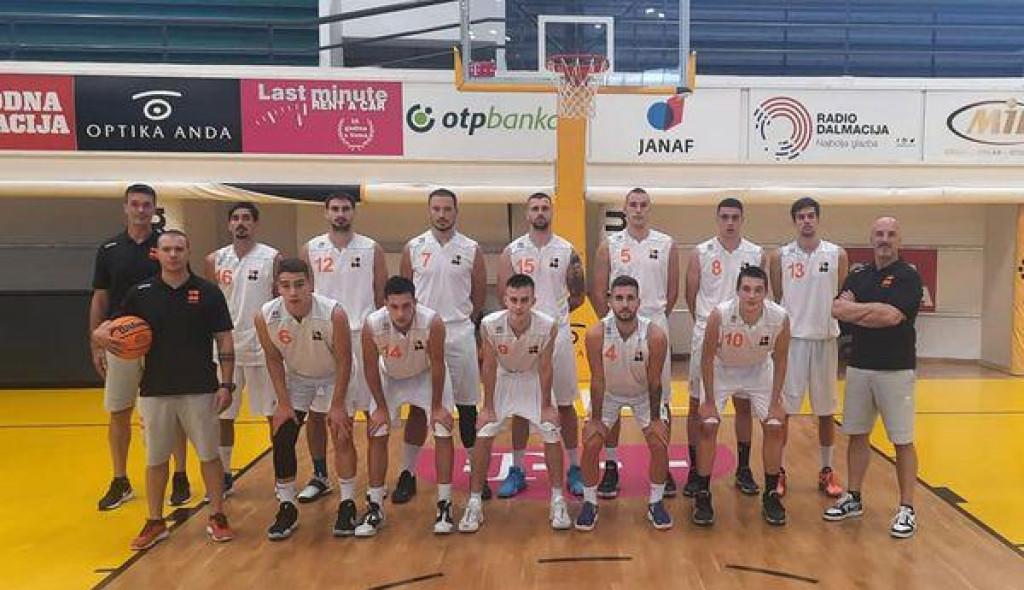 Košarkaši Šibenke odigrali pripremnu utakmicu u Splitu