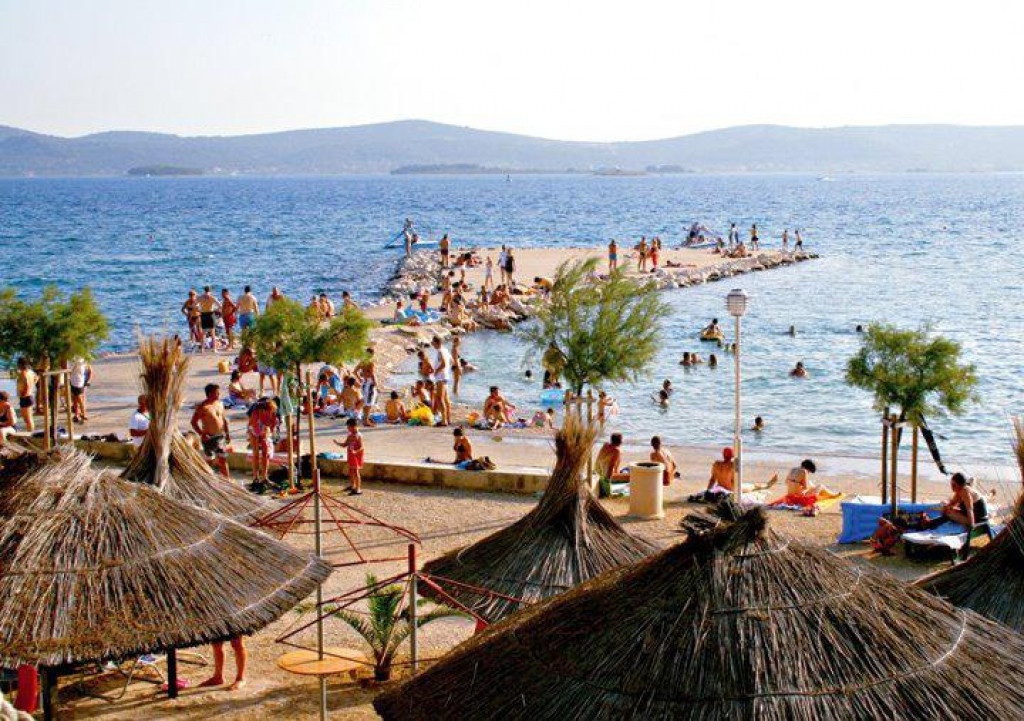 Ilsutracija plaže Sv. Filip i Jakov