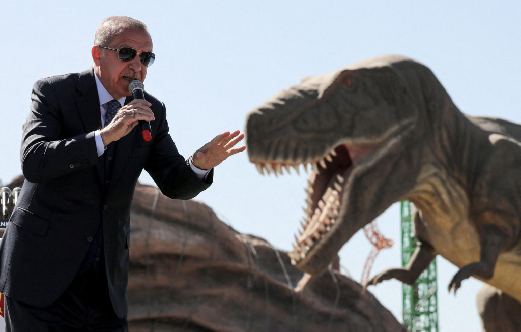 Turski predsjednik Recep Tayyip Erdogan atraktivan je gost