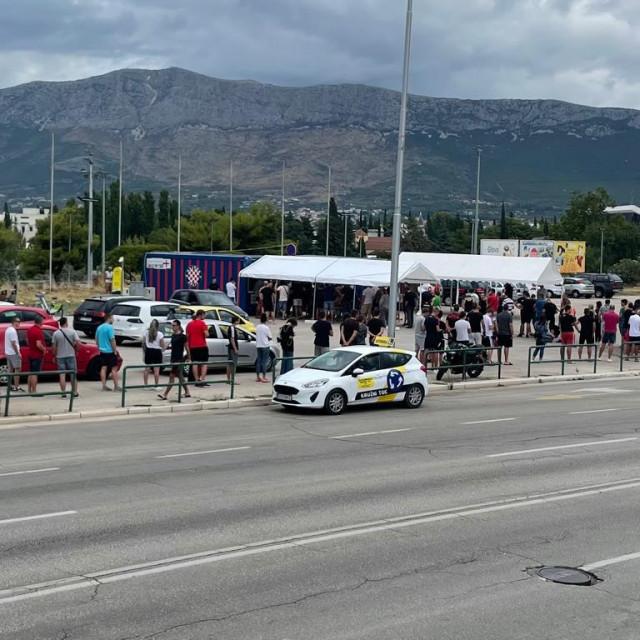 Red za testiranja uoči utakmice Hajduka i Rijeke
