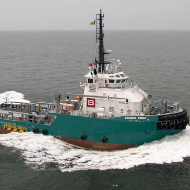 Brod Bourbon Rhode zbog lošega stanja i brojnih problema nije uopće smio napustiti suhi dok u Las Palmasu na Kanarima