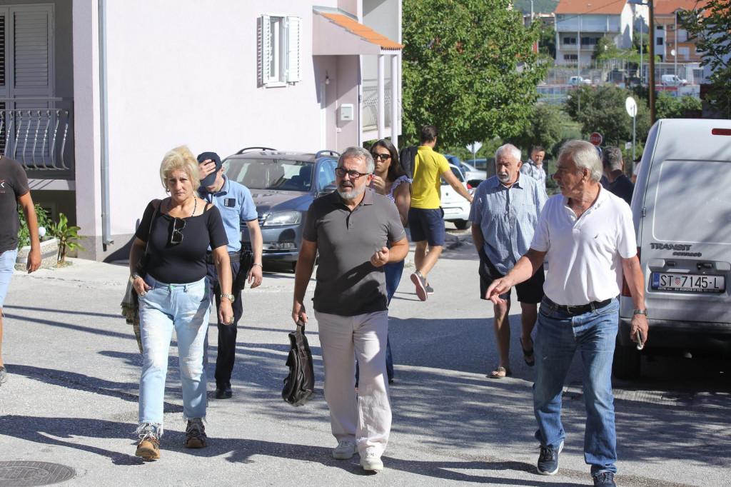Zora Romić, investitorica sporne zgrade s odvjetnikom