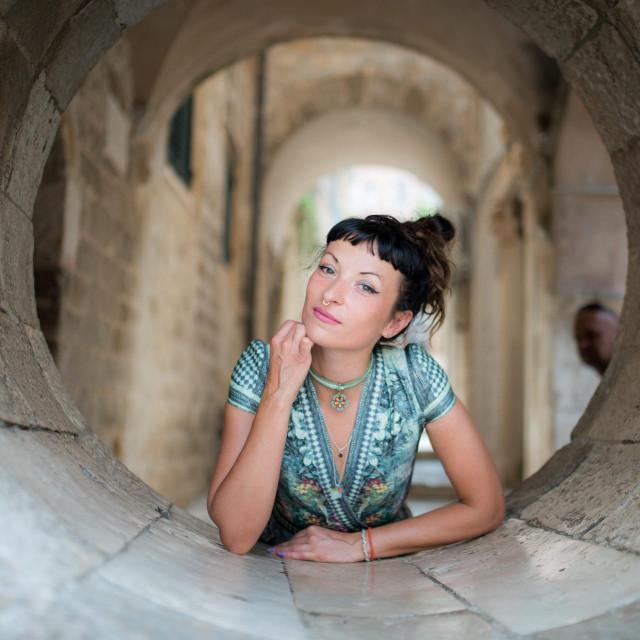 Dubrovnik, 020819.<br /> Pjevacica Ines Trickovic.<br />