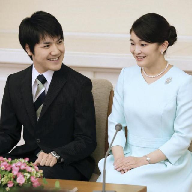 Japanska princeza Mako i njezin zaručnik Komuro