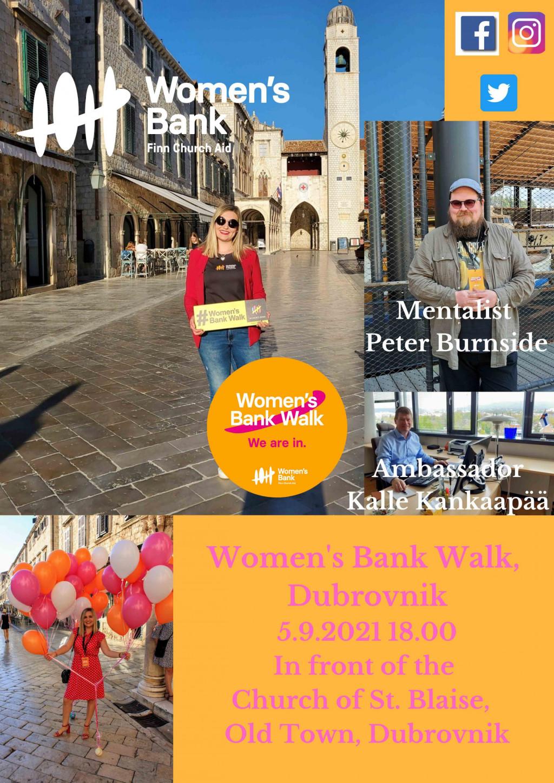 Women's Bank Walk