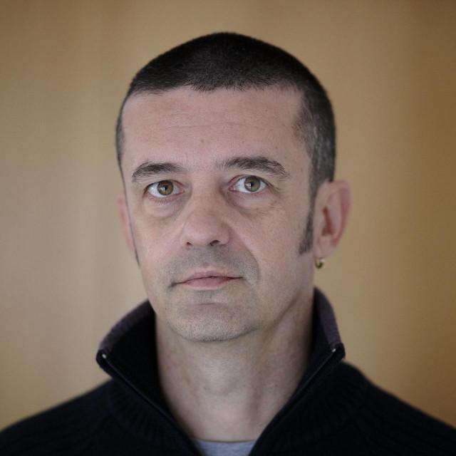 Zagreb, 271014.<br /> Drazen Orescanin, predsjednik uprave tvrtke Poslovna inteligencija, snimljen u svom uredu u Zelinskoj 4.<br />