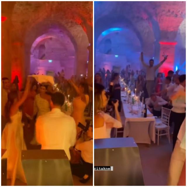 Svadbena večera u Dioklecijanovim podrumima
