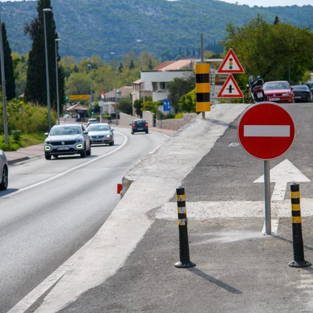 Prometno rješenje skretnice u Srebrenom koje je razlog negodovanja mještana
