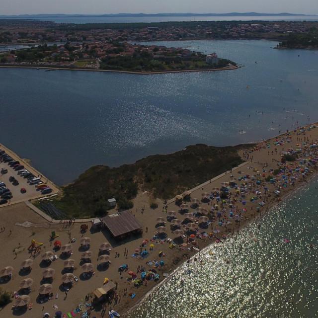 Plaža Ždrijac u Ninu