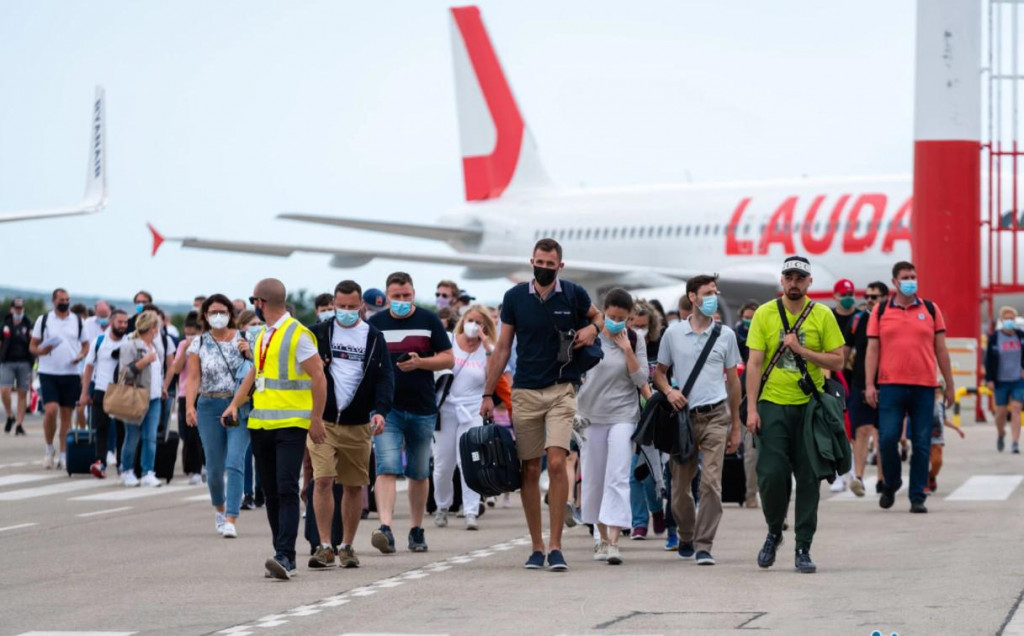 Zadarski aerodrom bilježi rekorde