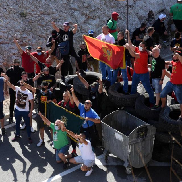 Barikade u subotu u Cetinju