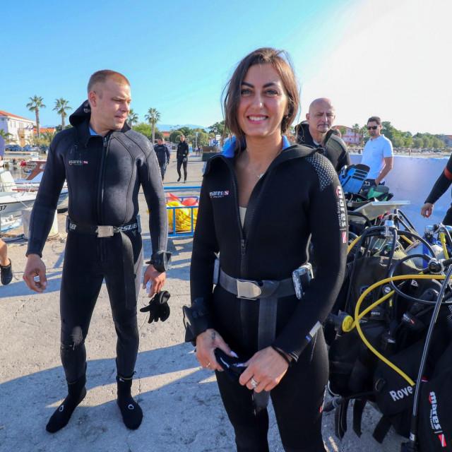 Ronioci su čistili virsko podmorje u akciji Eko Vir 2021