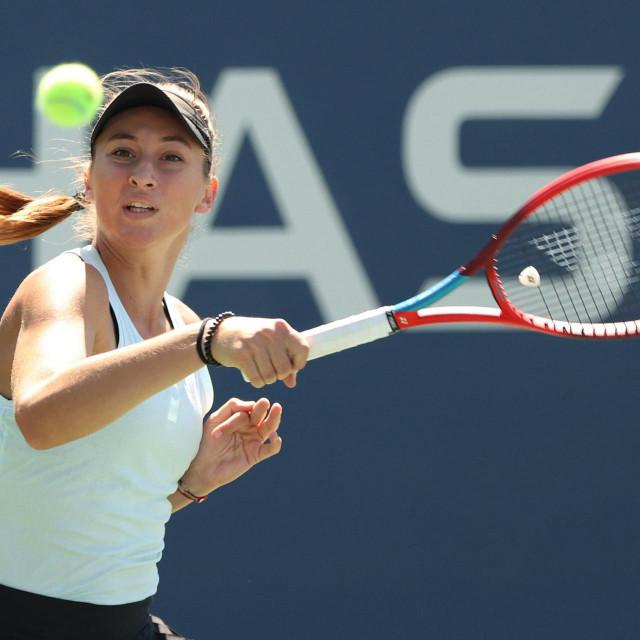 Lucija Ćirić Bagarić na juniorskom US Openu