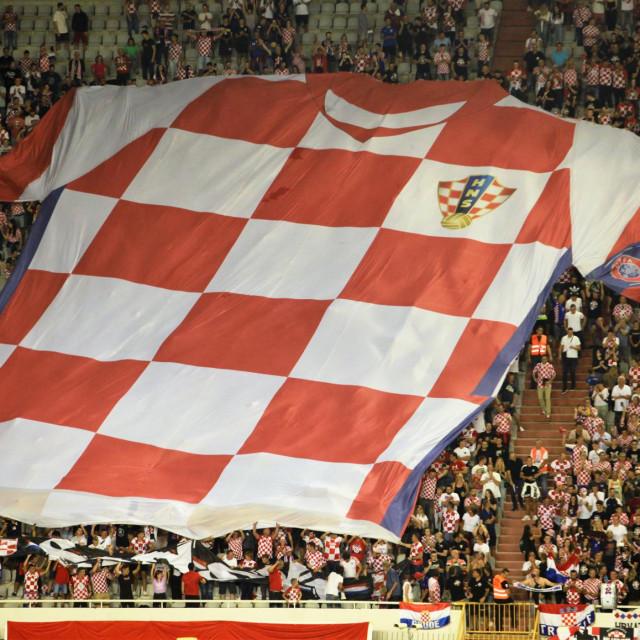 Malo više od 16 tisuća hrvatski navijača došlo je podržati 'Vatrene' protiv Slovenije u Splitu