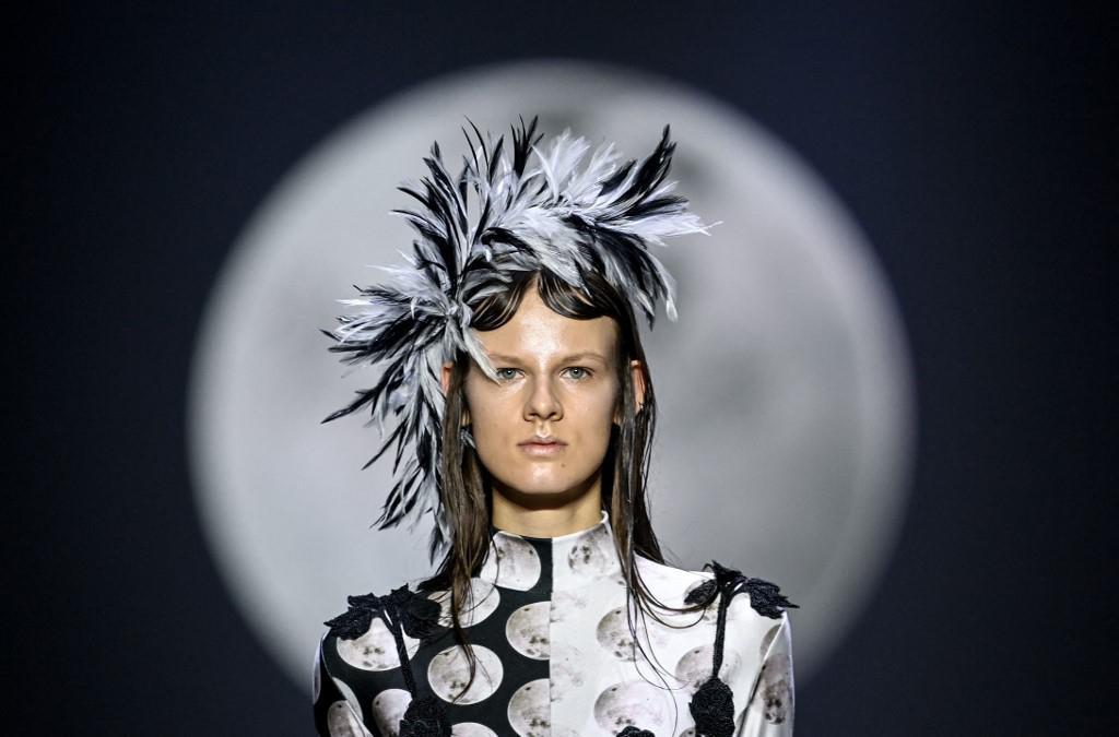Model nosi kreaciju austrijske dizajnerice Florentine Leitner