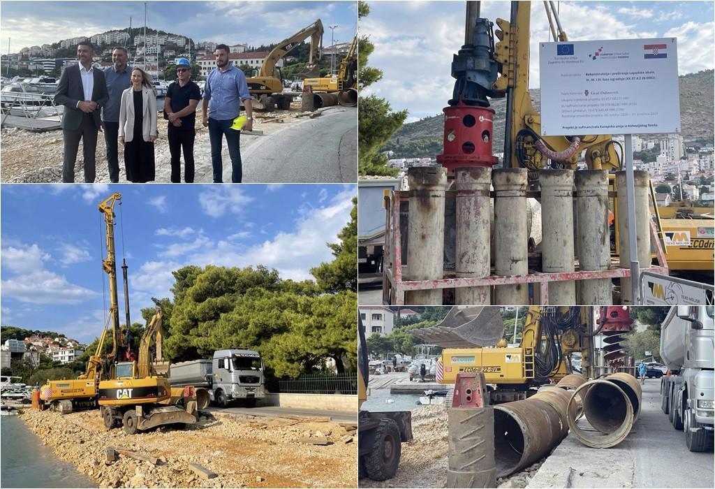 Gradonačelnik Franković obišao je gradilište Lapadske obale