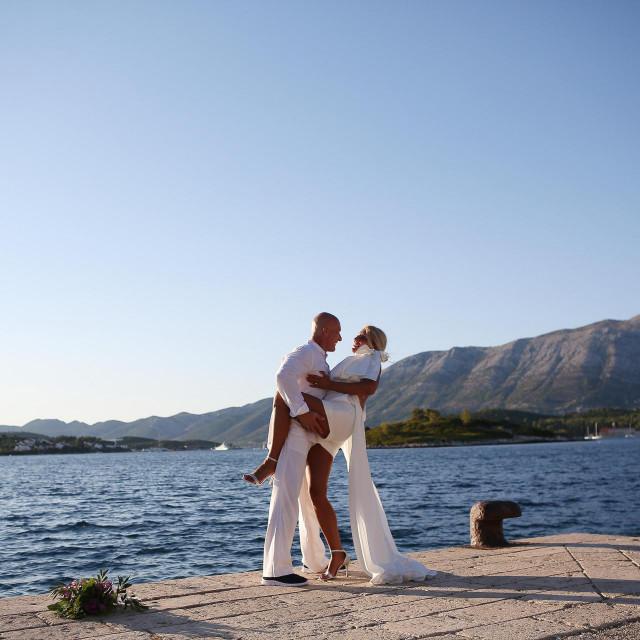 Vjenčanje Andree i Željka na Vrniku