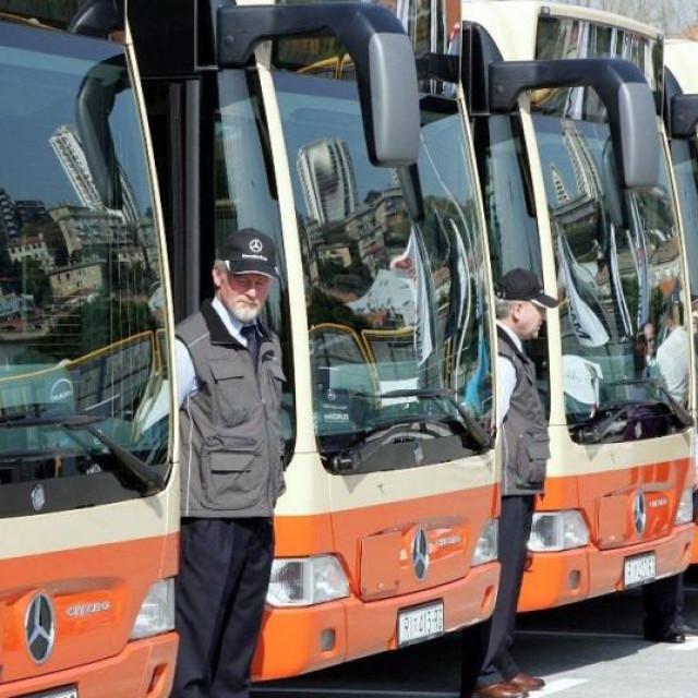 Autobusi Autotroleja; ilustracija