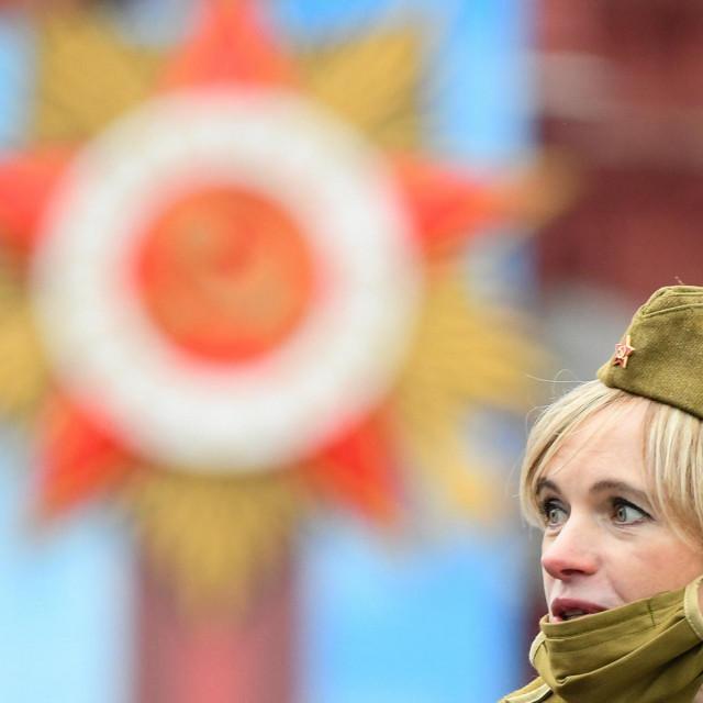 Proslava 76. obljetnice pobjede nad nacistima u Drugom svjetskom ratu, održana u svibnju u Moskvi