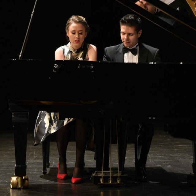 Dubravka Vukalović i Bruno Vlahek
