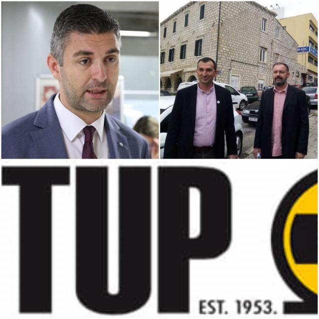 Mato Franković, Đuro Capor, Nikša Selmani, TUP