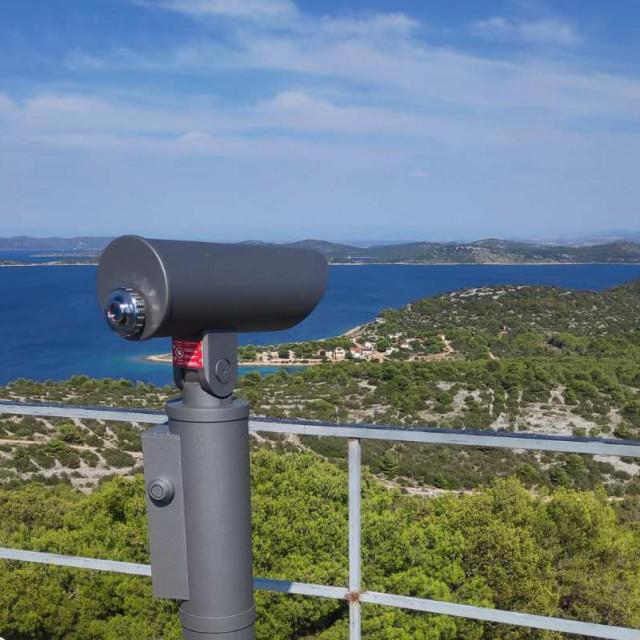 Panoramski dalekozor na Veloj Glavi<br />