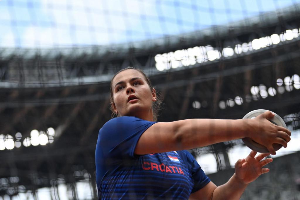 Marija Tolj na Olimpijskim igrama u Tokiju