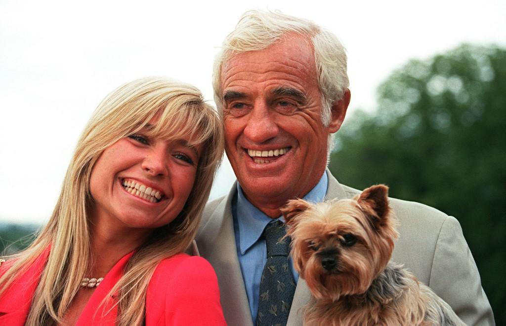 Jean-Paul Belmondo i sa suprugom Natty 1997. godine