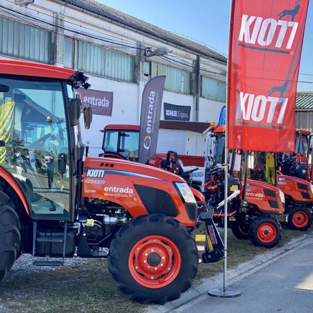 Kioti traktori južnokorejskog proizvođača Daedong