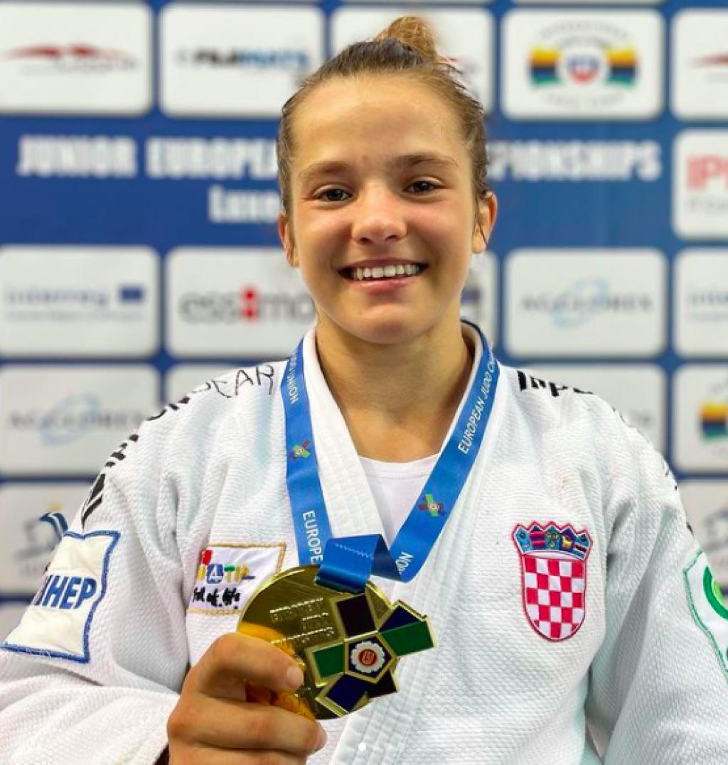 Katarina Krišto europska juniorska prvakinja