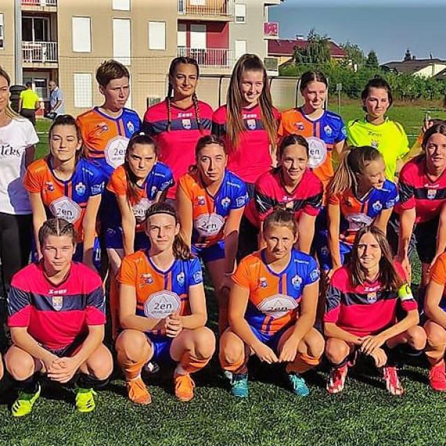 Nogometašice Varteksa i Župa dubrovačke uoči utakmice 1. kola Druge HL - skupina 'A'