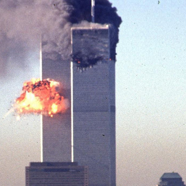 WTC u plamenu, prizor kojega se svatko sjeća