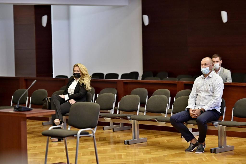 Na fotografiji: Jasmina Bilonic i fra Šime Nimac<br />