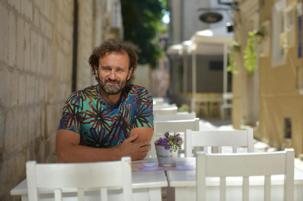 Predrag Majica, zadarski ugostitelj i vlasnik restorana Tinel<br />