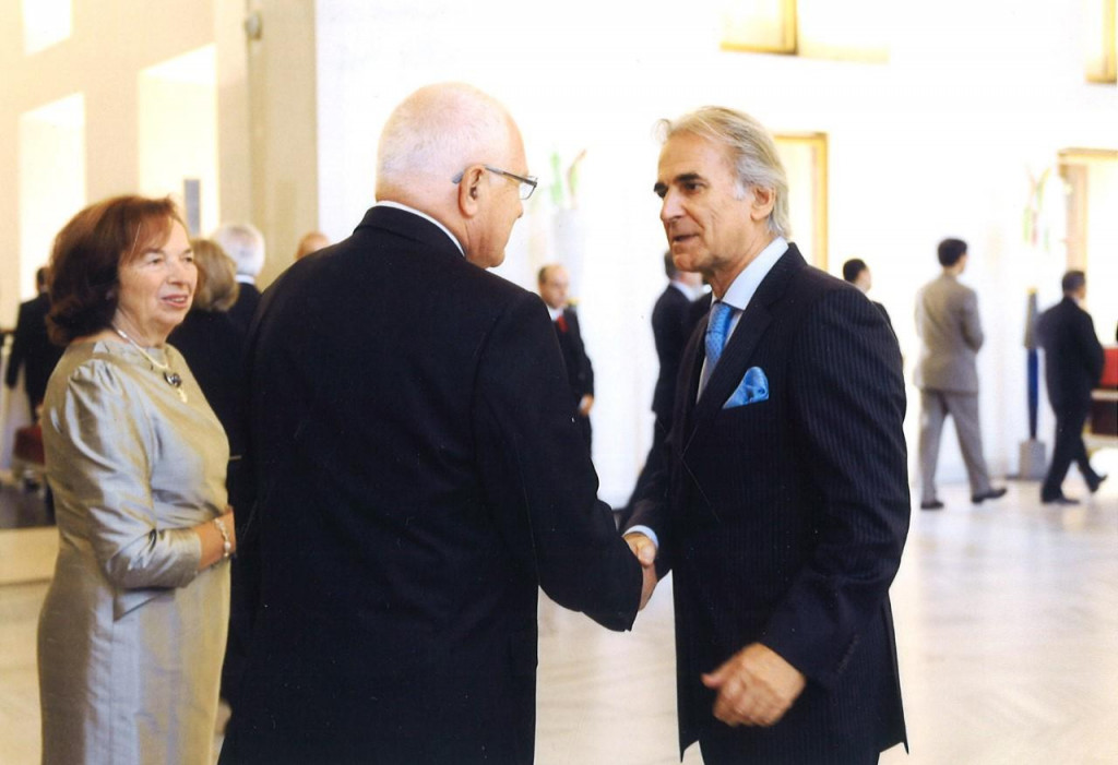 Vaclav Klaus i Frane Krnić
