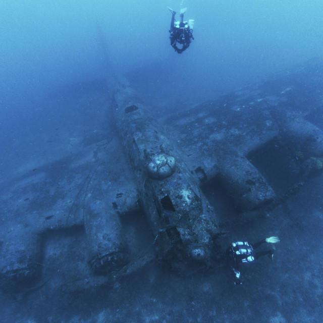 'Leteća tvrđava' B-17 mirno je desetljećima ležala na dubini od 71 metra kod viškog Rukavca