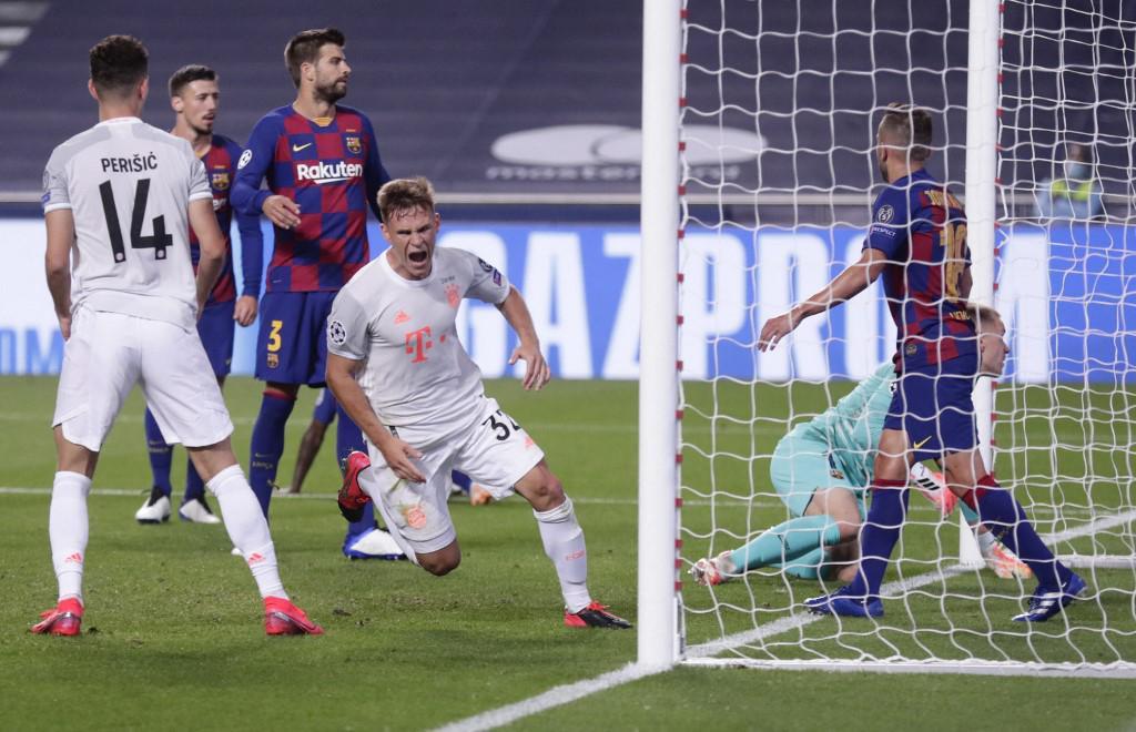 Bayern je lani Barceloni nanio jedan od najtežih poraza u njenoj povijesti, gol je zabio i veznjak Joshua Kimmich