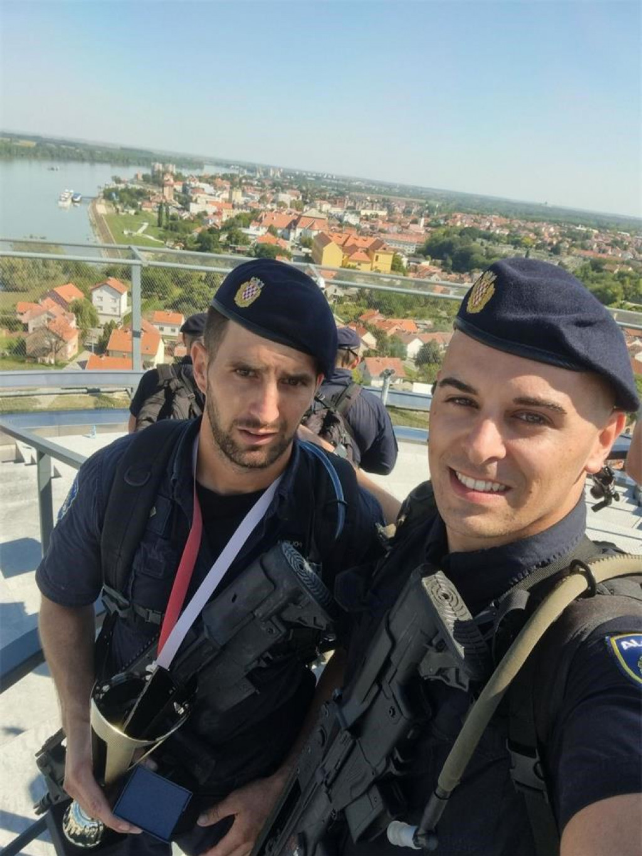 Petar Volarević i Marko Batori među najspremnijim su policijskim službenicima u Hrvatskoj