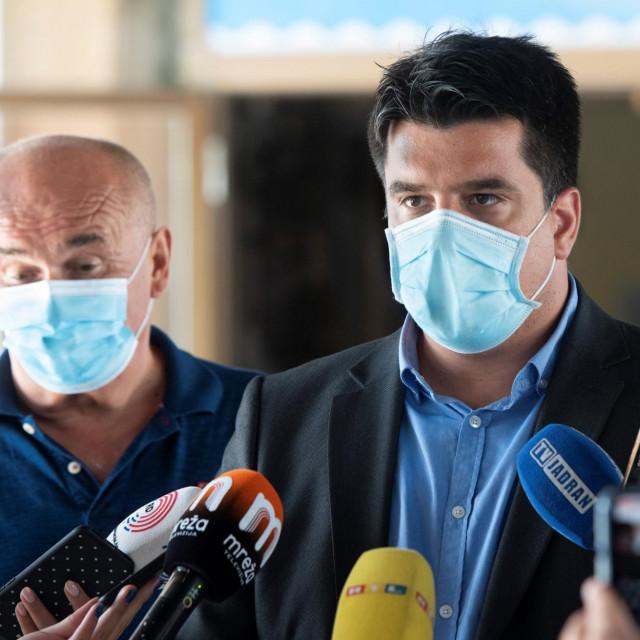Tomislav Đonlić, pročelnik županijskog Upravnog odjela za prosvjetu, kulturu, tehničku kulturu i sport
