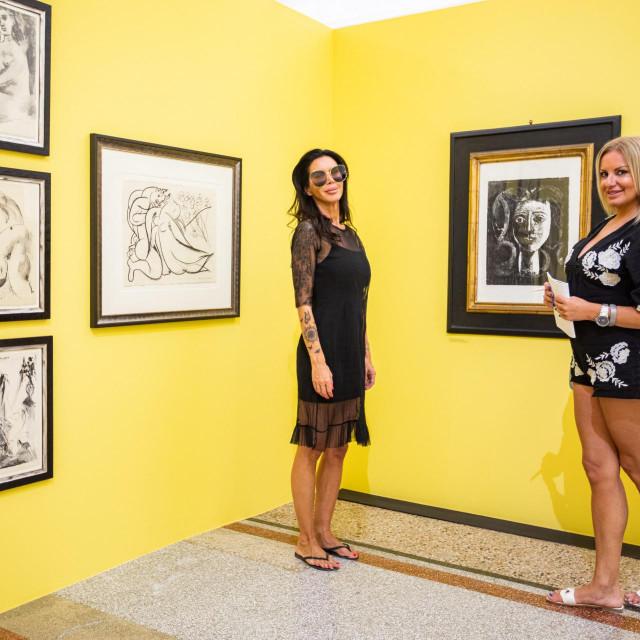 Picasso i Miro u opatijskoj galeriji....<br />