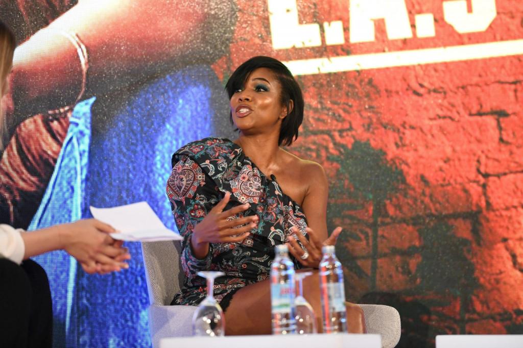 Gabrielle Union na New Europe marketu, festivalu filma i televizije u Dubrovniku