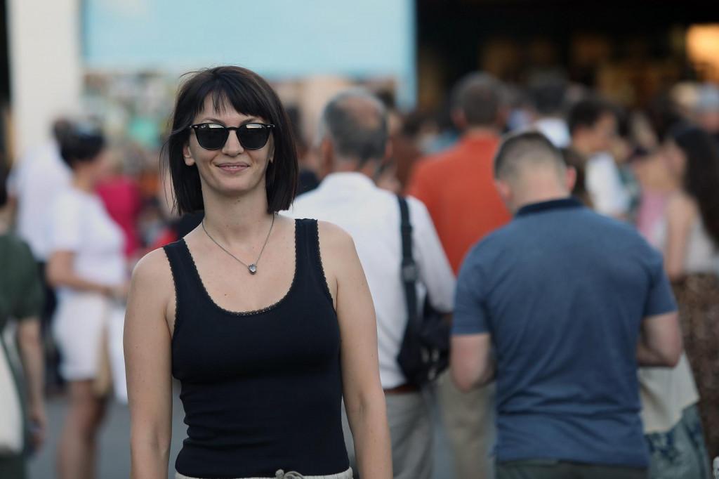 Ivana Paradžiković snimljena ovoga lipnja u Zagrebu