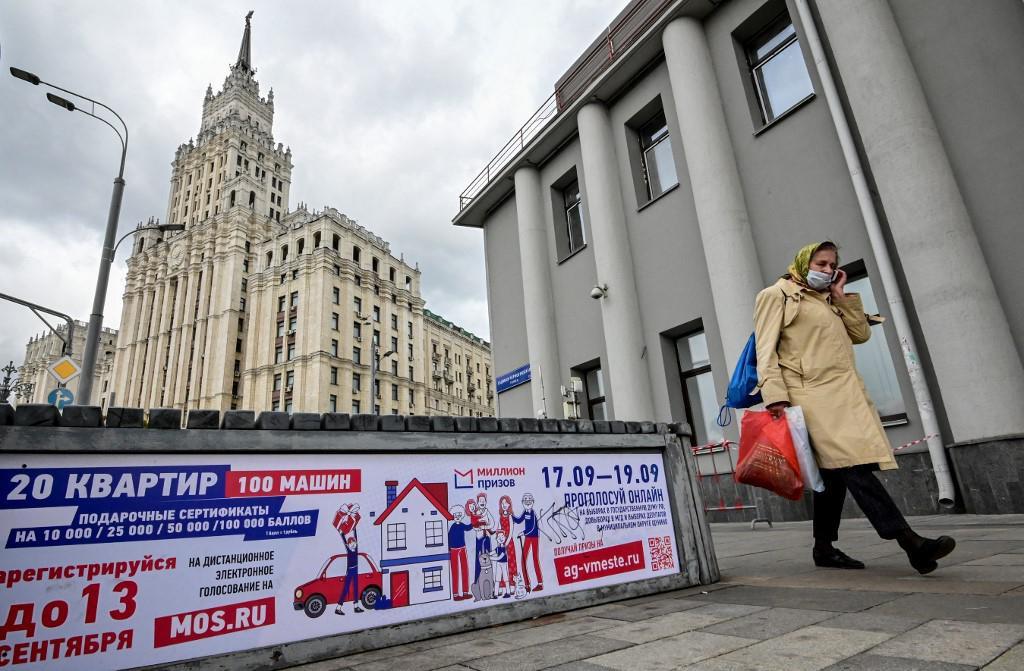 Poster u Moskvi najavljuje izbore, i obećava vrijedne nagrade